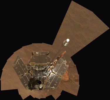 Self-portrait of the Mars rover Opportunity