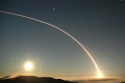 Delta II rocket / NOAA-N weather satellite launch from Vandenberg AFB