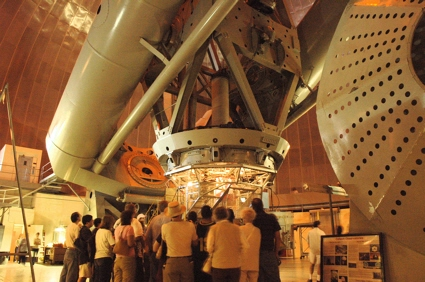 200-inch Hale telescope at Palomar Observatory