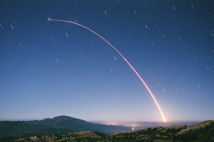 Minuteman III missile / SERV 2 launch from Vandenberg AFB