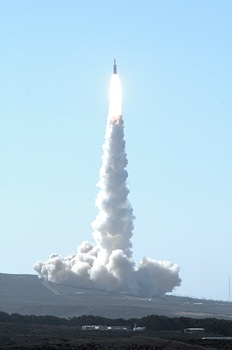 Titan IV rocket / National Reconnaissance Office payload launch from Vandenberg AFB