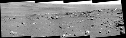 Mosaic from NASA's Mars rover Spirit
