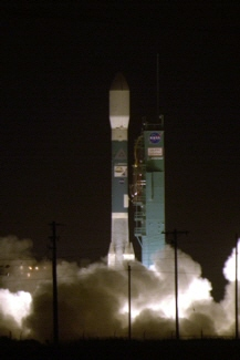 Photo of the Delta II CloudSat CALIPSO launch