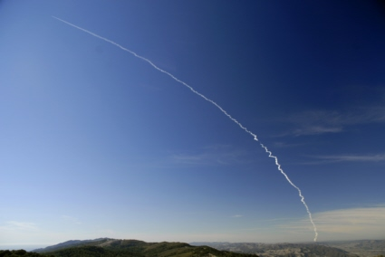 Image of the Delta II / NROL-21 launch from Vandenberg AFB