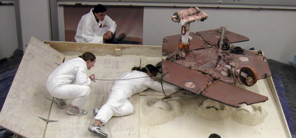 JPL performs testing to free Mars rover Spirit