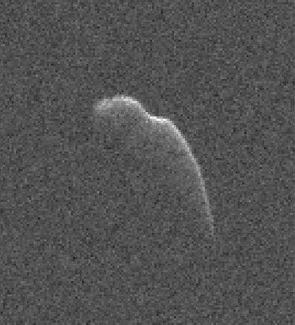Goldstone radar image of asteroid