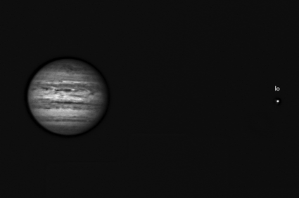 Jupiter in infrared