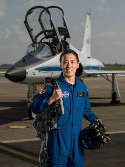 Astronaut Johnny Kim