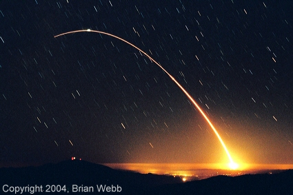 Minuteman III ICBM launch time exposure